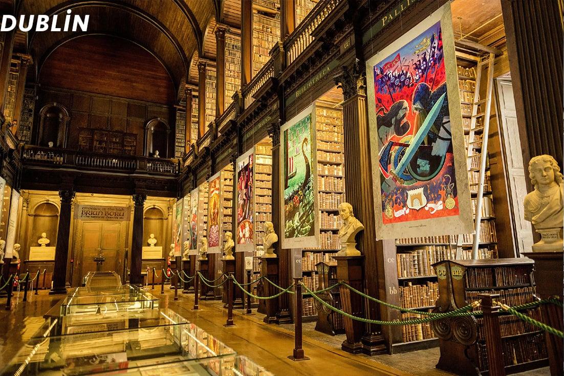 Dublin Kütüphane