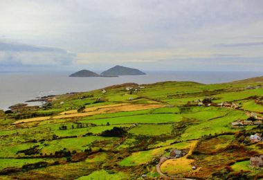 İrlanda Doğa Orman Ada ve Deniz