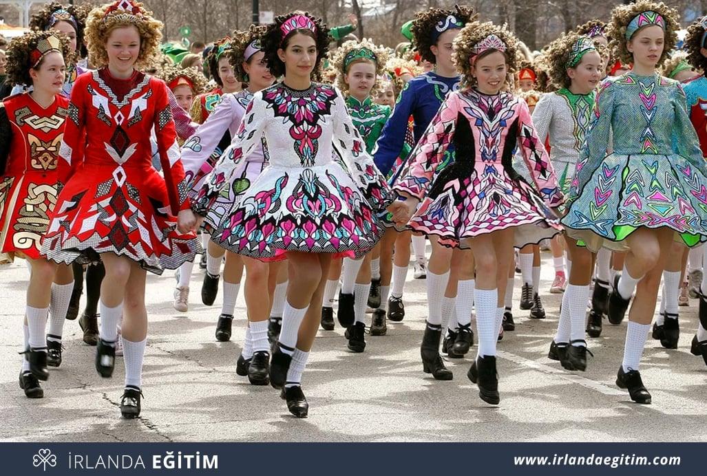 irlanda folklorik dans