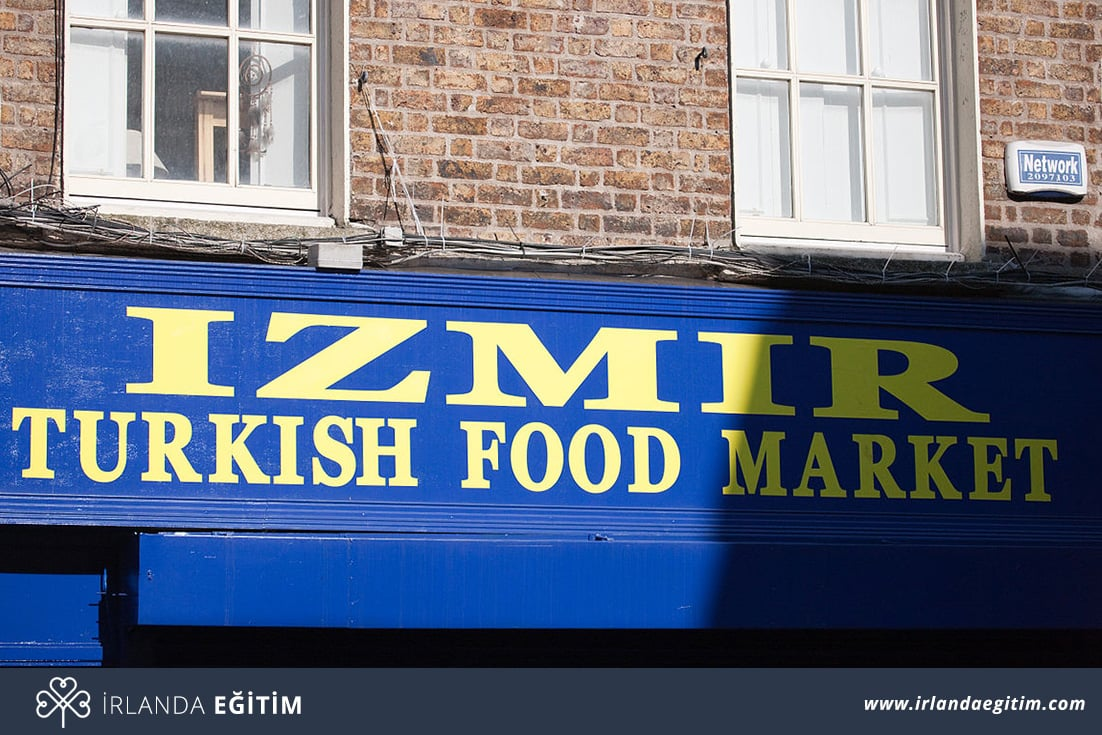 İrlanda'da Türk Marketi