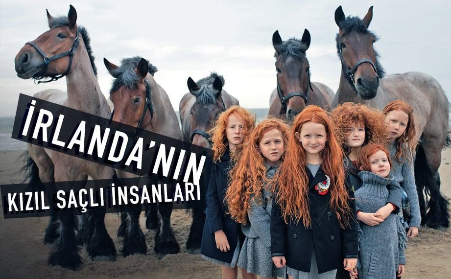 irlanda kızıl saçlı insanları