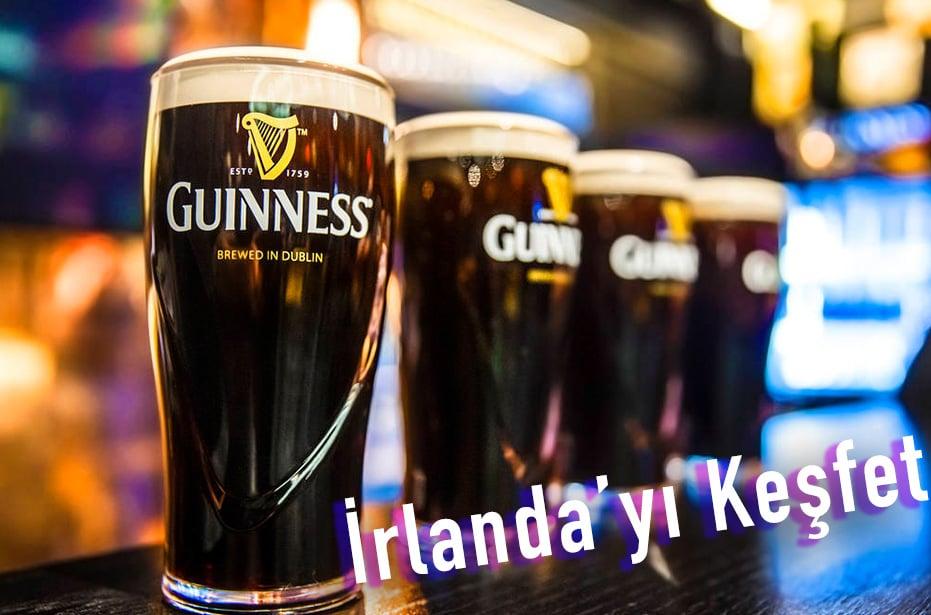 İrlanda'nın meşhur bira markası Guinness
